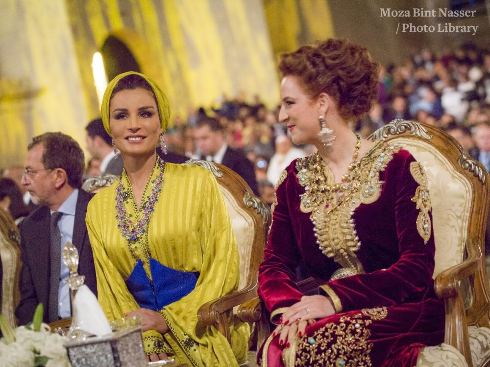 HH Sheikha Moza Attends Opening of Fez Festival of World Sacred Music