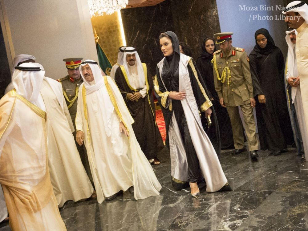 HH Sheikha Moza atends opening of Jabir Al Ahmed Cultural Centre in Kuwait
