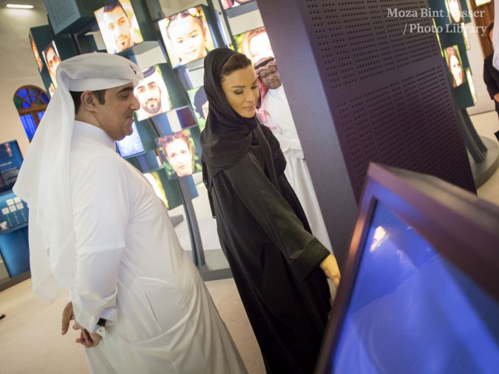 HH inaugurates DNA exhibition