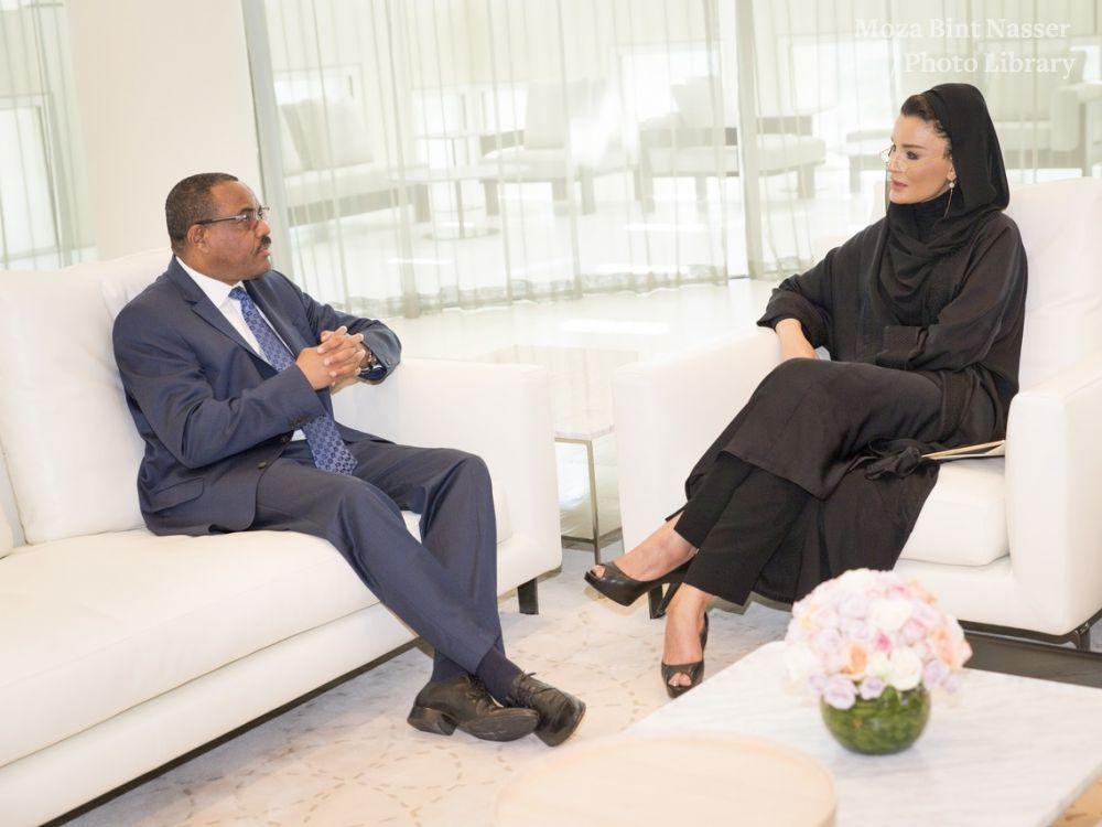 HH meets Ethiopian PM