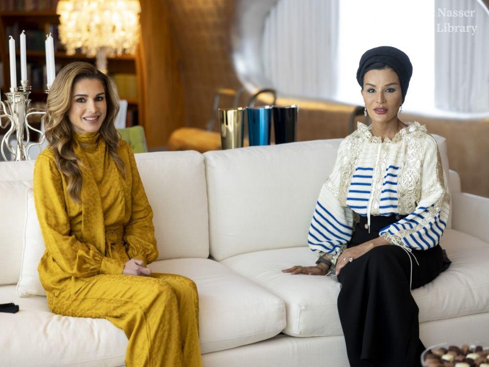 Sheikha Moza Queen Rania