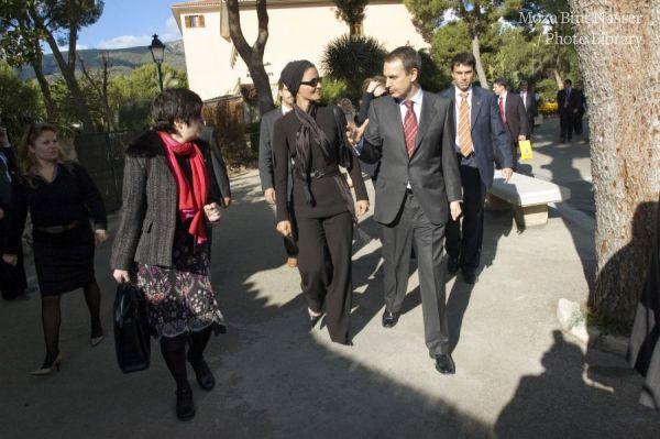 صاحبة السمو الشيخة موزا تحضر الاجتماع الأول لمجموعة تحالف الحضارات الرفيعة المستوى