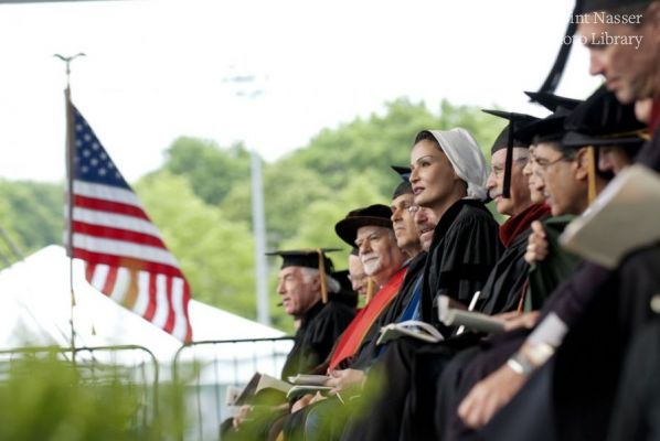 HH Sheikha Moza delivered Keynote Address at Carnegie Mellon's 109th Commencement