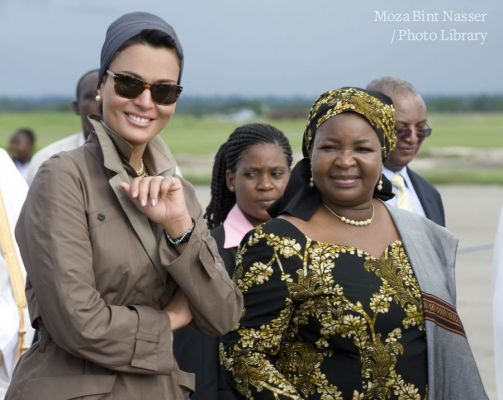 Their Highnesses' official-one day-visit to Tanzania