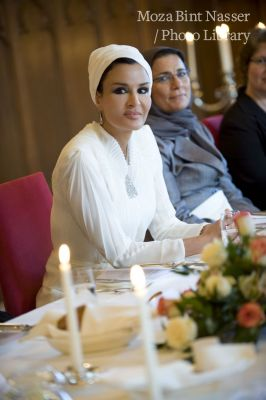 Official visit of Her Highness Sheikha Moza to Germany
