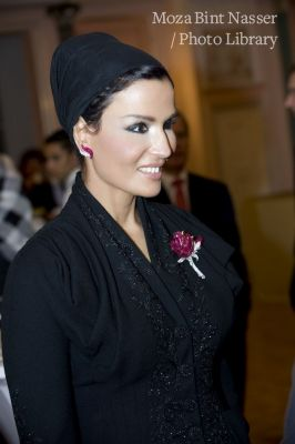 HH Sheikha Moza at 'Konzerthaus Gendarmenmarkt' for the 75th anniversary of the German Near and Middle East Association