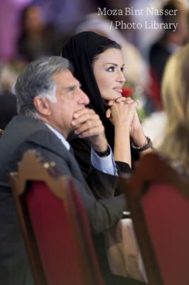 Her Highness Sheikha Moza at the 09 Doha SILATECH summit