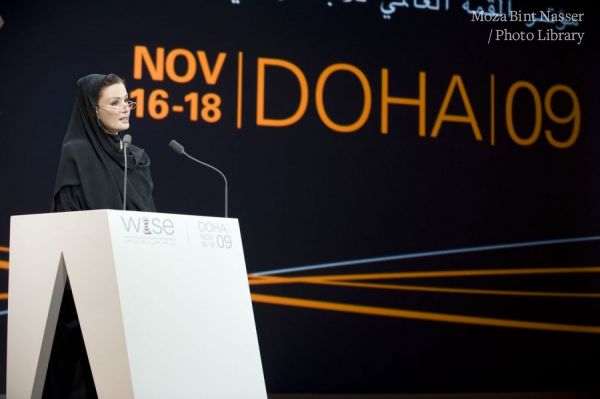 HH Sheikha Moza Inaugurates the World Innovation Summit for Education-WISE