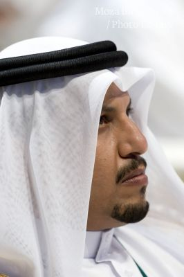 Portraits of Qatari Sheikhs and Ministers