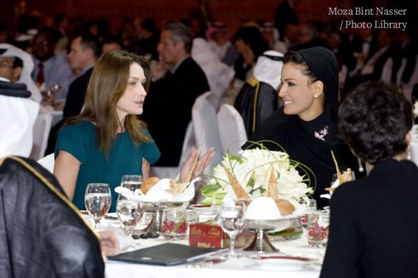 Her Highness Sheikha Moza Attends WISE Dinner