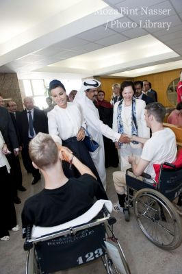 Their Highnesses visit SOCA Rehabilitation Institute on the second day of the official visit