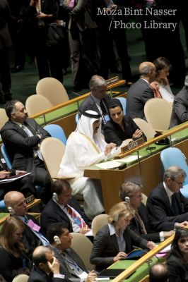 His Highness and Her Highness at 65th session of the UN General Assembly