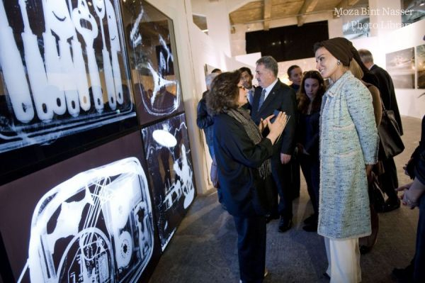 HH Sheikha Moza attends 'EDGE OF ARABIA' in Istanbul