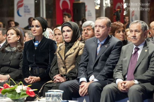 HH Sheikha Moza attends opening of the Institute for the Alliance of Civilizations