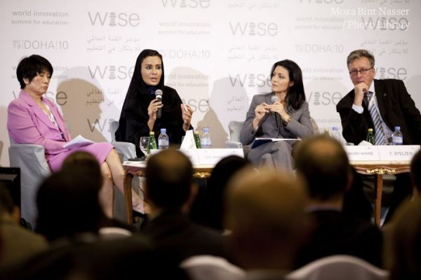 HH Sheikha Moza bint Nasser attends MDG High Level Session at WISE