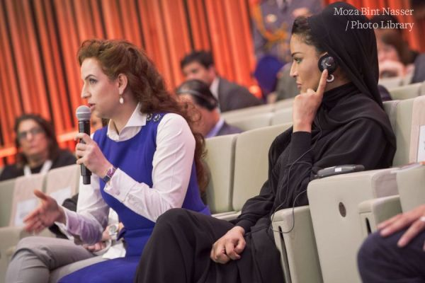 HH Sheikha Moza at WISH 2015