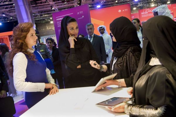 HH Sheikha Moza at WISH