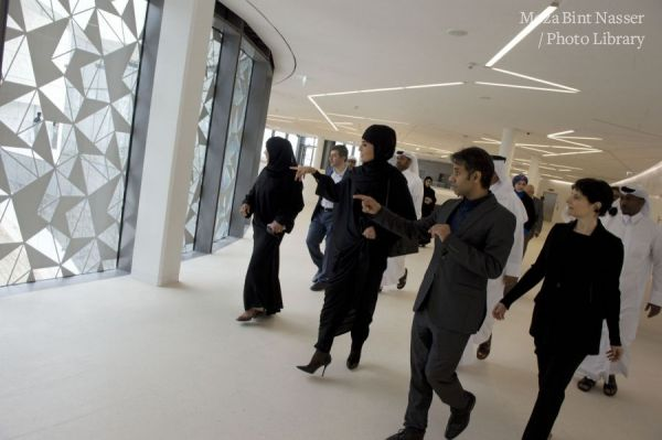 HH Sheikha Moza opens the Qatar Faculty of Islamic Studies building