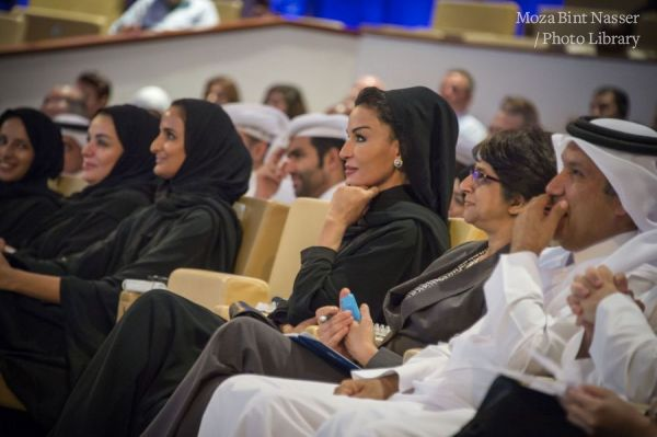 HH Sheikha Moza at Teaching and Learning Forum