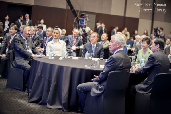 HH Sheikha Moza speaks at the 6th Asian Leadership Conference