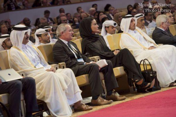 HH Sheikha Moza attends ISQua conference