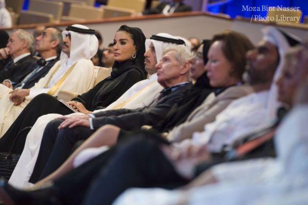 صاحبة السمو الشيخة موزا تشهد افتتاح مؤتمر الاسكوا