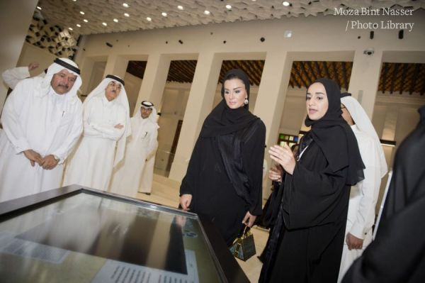 HH Sheikha Moza opens Msheireb Museums
