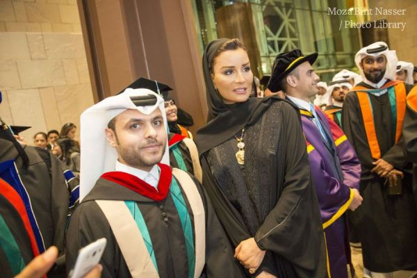 HH Sheikha Moza Witnesses Hamad bin Khalifa University (HBKU) Graduation