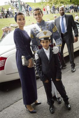 HH Sheikha Moza attends US Military Academy Graduation