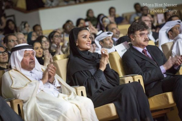 HH Sheikha Moza witnessed the celebration of the 5th anniversary of the health campaign Sahtak Awalan: Your Health First.