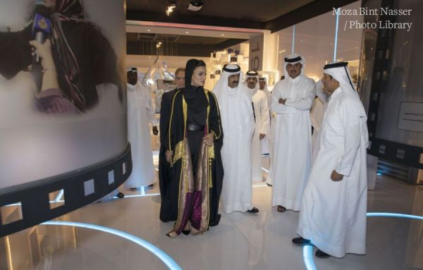 Their Highnesses Attend The 20th Anniversary Celebration of Aljazeera