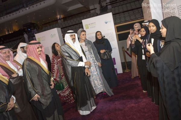 Their Highnesses the Father Amir and Sheikha Moza attended the 6th Annual Dinner of Reach Out to Asia organization ROTA