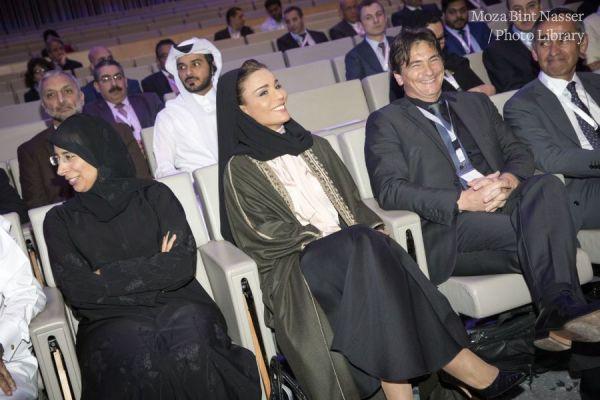 HH Sheikha Moza at Islet Cell Transplantation (ICT) symposium.
