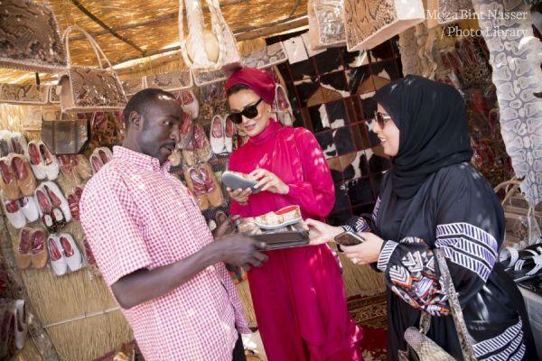 HH Sheikha Moza meets Silatech Beneficiaries