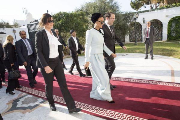 صاحبة السمو تلتقي برئيس الوزراء التونسي