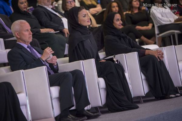 HH Sheikha Moza Inaugurates Northwestern's New Building