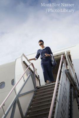 HH Sheikha Moza Arrives to The Netherlands