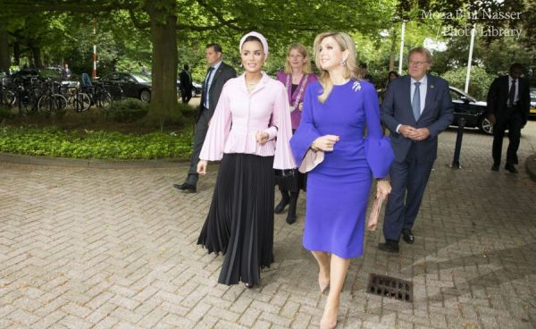 HH Sheikha Moza speaks on education in conflict at The Hague Institute