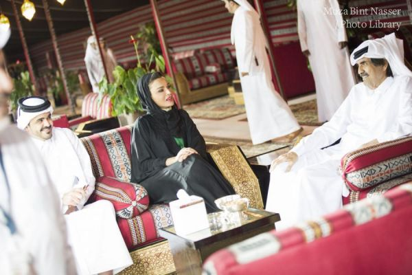 Their Highnesses attend AlShaqab Longines Global Champions Tour finale