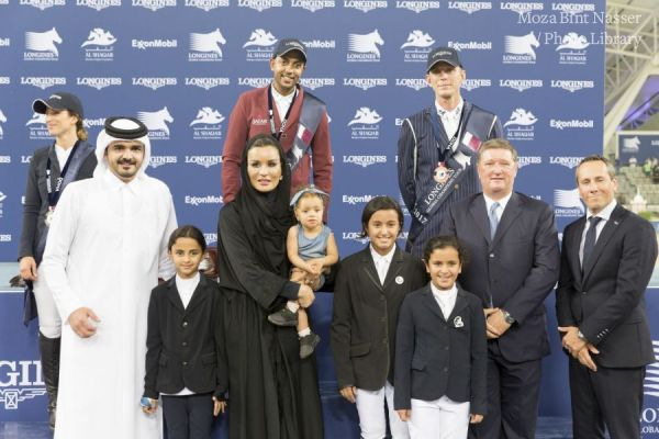 Her Highness crowns winners at Longines Global Champions Tour
