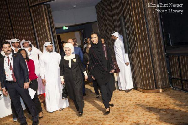HH Sheikha Moza inaugurates WISE 2017