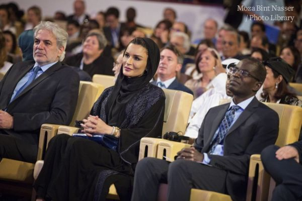 HH Sheikha Moza witnesses the closing session of WISE 2017