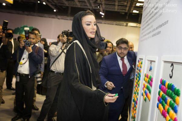 """صاحبة السمو الشيخة موزا تشارك في فعالية """"مؤسستي"""" لمؤسسة قطر"""