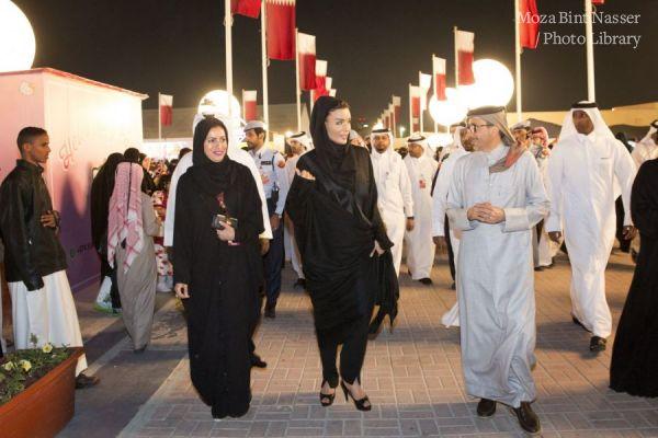 HH Sheikha Moza visits Darb Al Saai