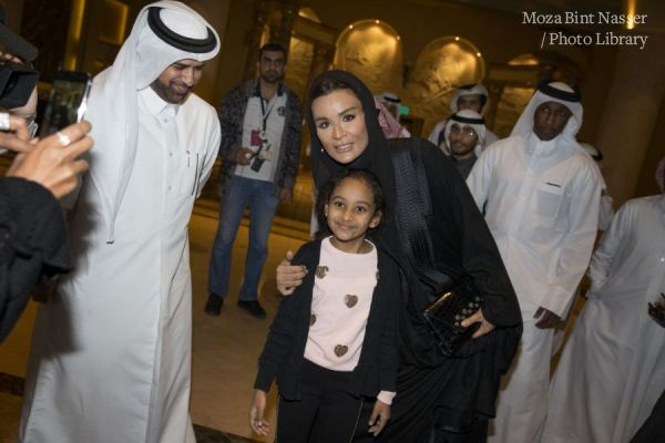 HH Sheikha Moza witnesses national day festivities at Katara