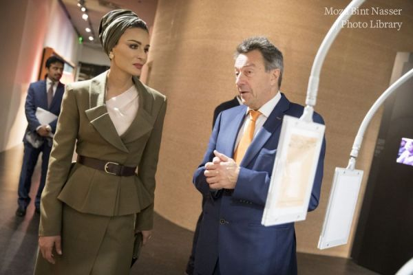 HH Sheikha Moza visits Red Cross and Red Crescent Museum