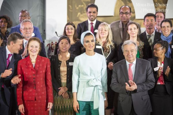 HH Sheikha Moza participates in Education Above All's 10 million event in New York