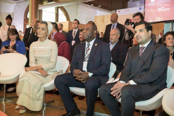HH Sheikha Moza participates in WISE@NY education forum
