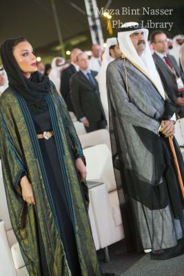 Their Highnesses witness the Grand Opening Ceremony of Sidra Medicine