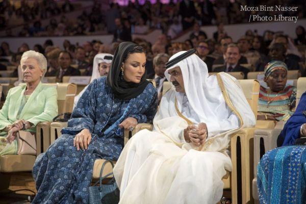 صاحبا السمو يشهدان افتتاح مؤتمر قمة ويش ٢٠١٨
